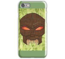 Dead Man's Party - The Ovu Mobani Mask - BtVS iPhone Case/Skin