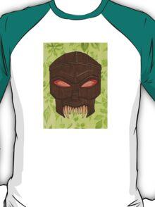 Dead Man's Party - The Ovu Mobani Mask - BtVS T-Shirt