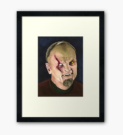 Faith, Hope & Trick - Kakistos - BtVS Framed Print
