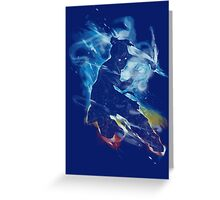 Dancing with elements Greeting Card