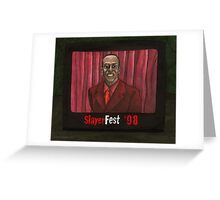 Homecoming - Mr. Trick - BtVS Greeting Card