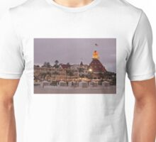 end of the beach day - del coronado hotel Unisex T-Shirt