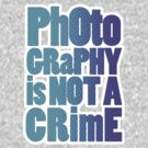 photography is not a crime by animo