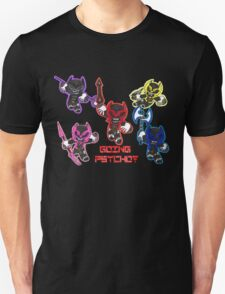 Going Psycho! Puff Shirt Unisex T-Shirt