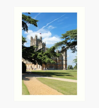 Downton Abbey Art Print