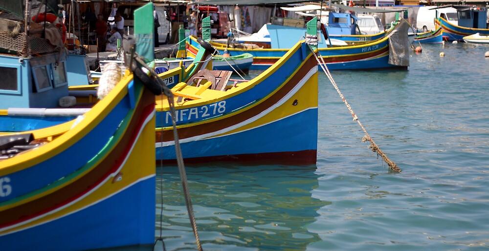 Fishing Boats by David Elliott