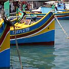 Fishing Boats by David Elliott