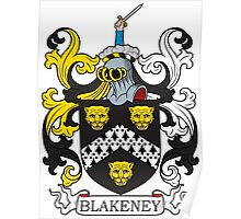 Blakeney Coat of Arms Poster