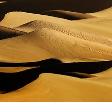 Sunrise over Mesquite Flat Sand Dunes 2 by Alex Preiss