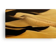 Sunrise over Mesquite Flat Sand Dunes 2 Canvas Print