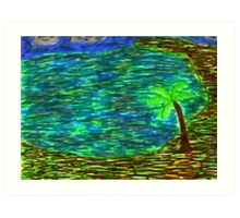 The Tropics in Color Art Print