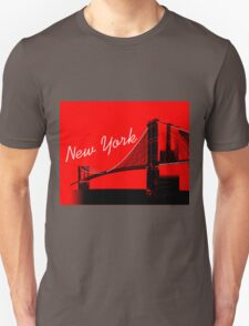 The Brooklyn Bridge New York Design T-Shirt