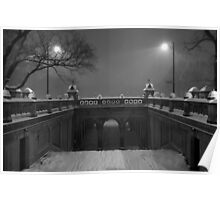 Central Park in the Snow 3 Poster
