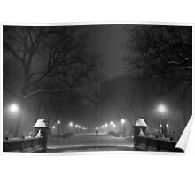 Central Park in the Snow 2 Poster