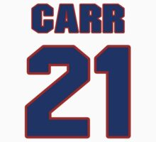 National football player Jimmy Carr jersey 21 by imsport