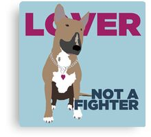 Roxy the Bull Terrier Canvas Print