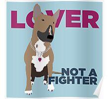 Roxy the Bull Terrier Poster