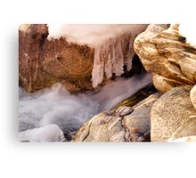 Cold Rush of Winter Canvas Print