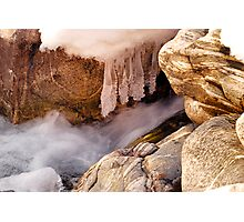 Cold Rush of Winter Photographic Print
