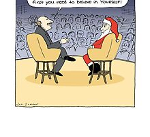 Santa Gets Some Advice by Jenn Inashvili