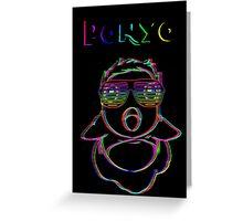 Electric Ponyo (Fish Form) (v2) Greeting Card