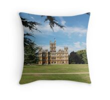 Highclere Castle a.k.a. Downton Abbey Throw Pillow