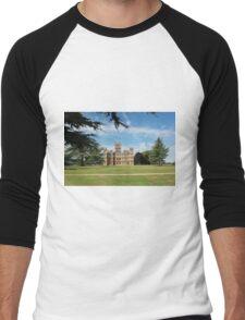 Highclere Castle a.k.a. Downton Abbey Men's Baseball ¾ T-Shirt