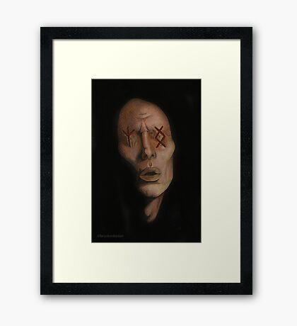 Amends - The Bringers - BtVS Framed Print