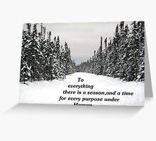 A Season Greeting Card