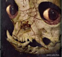 evil dead pug by darklordpug