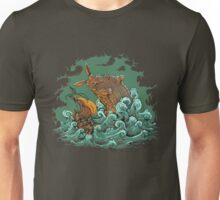 Sea Bunny Attack Unisex T-Shirt