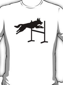 Dog agility sports T-Shirt