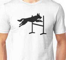 Dog agility sports Unisex T-Shirt