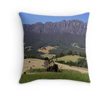 photoj Tas Mt Roland-Sheffield Throw Pillow