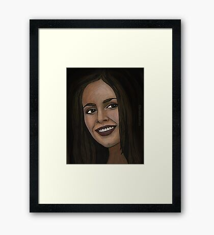 Consequences - Faith - BtVS Framed Print