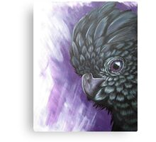 Purple Cockatoo  Canvas Print