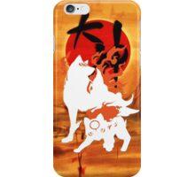 Okamiden - White iPhone Case/Skin
