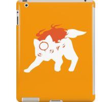 Okamiden - White iPad Case/Skin