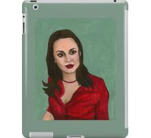 Enemies - Faith - BtVS iPad Case/Skin