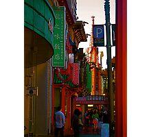 China Town  Photographic Print