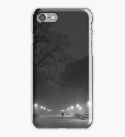 Central Park in the Snow 2 iPhone Case/Skin