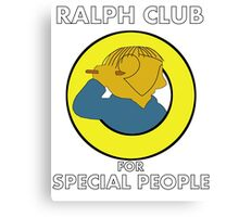 Ralph club for special people Canvas Print