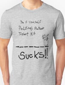 DIY Political Protest Shirt T-Shirt