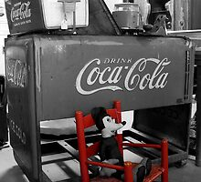 Mickey and a Coke by Walter Strength