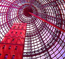 Coops Shot Tower Through Rose Coloured Glasses by Philip Johnson