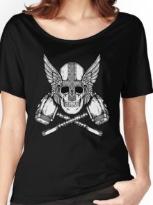 Thor Helmet and Hammers Women's Relaxed Fit T-Shirt