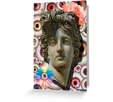 FLOWER OF THE EYES Greeting Card