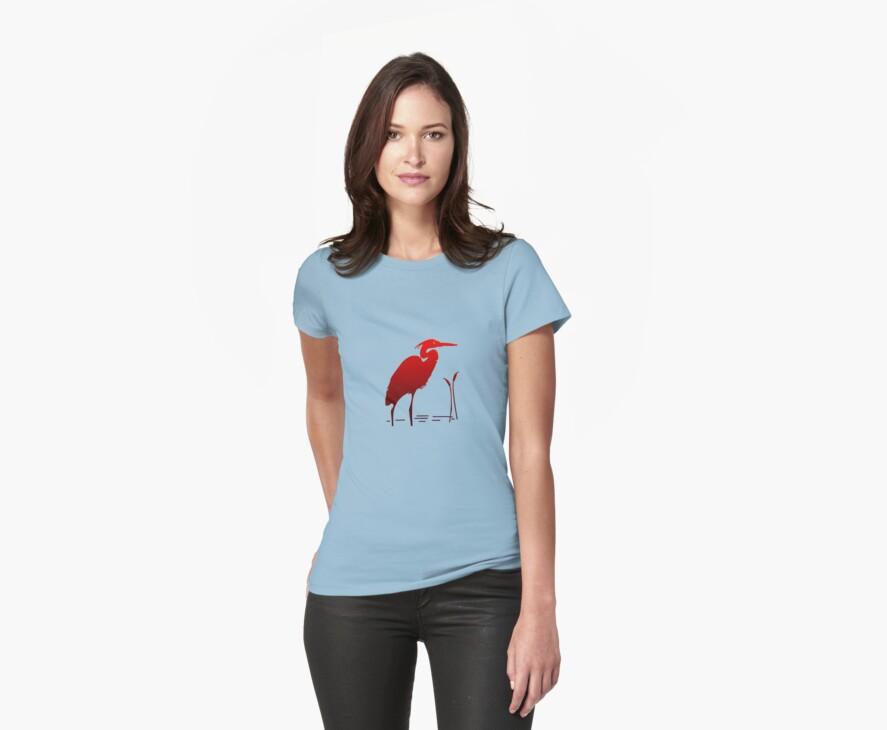 Red Crane by Ryan Houston