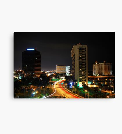 City Parking Canvas Print