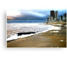 Gold Coast Beach closed Canvas Print